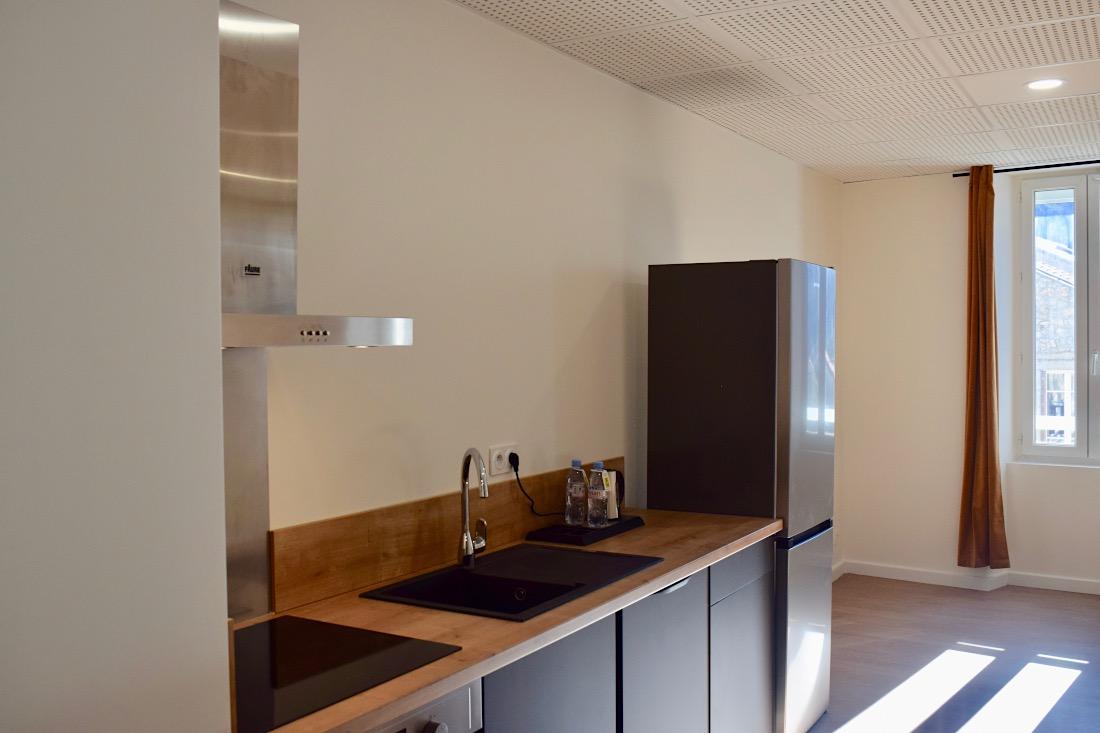 cuisine appartement familial les platanes