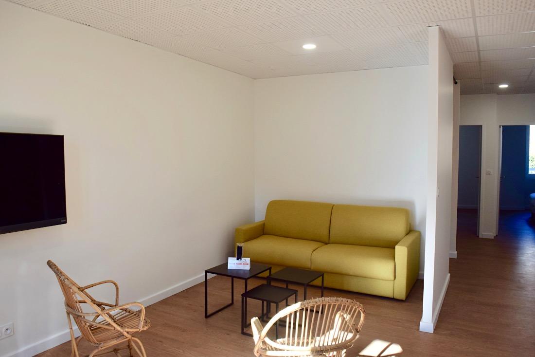 salon appartement familial